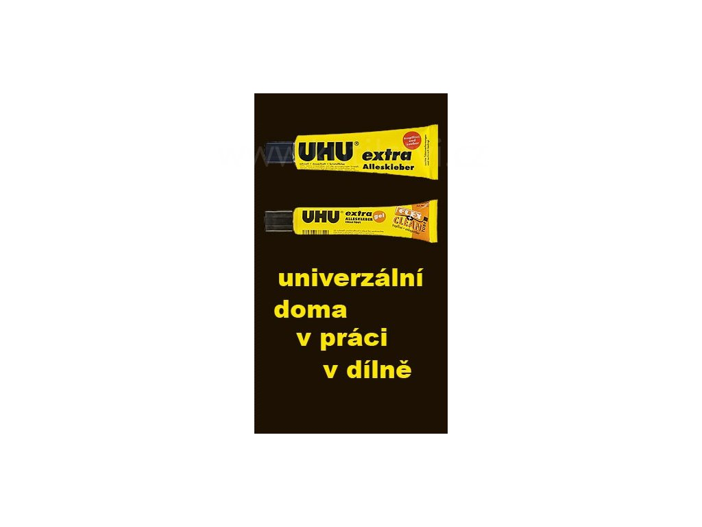 UHU Alleskleber extra - univerzální extra lepidlo, 31g