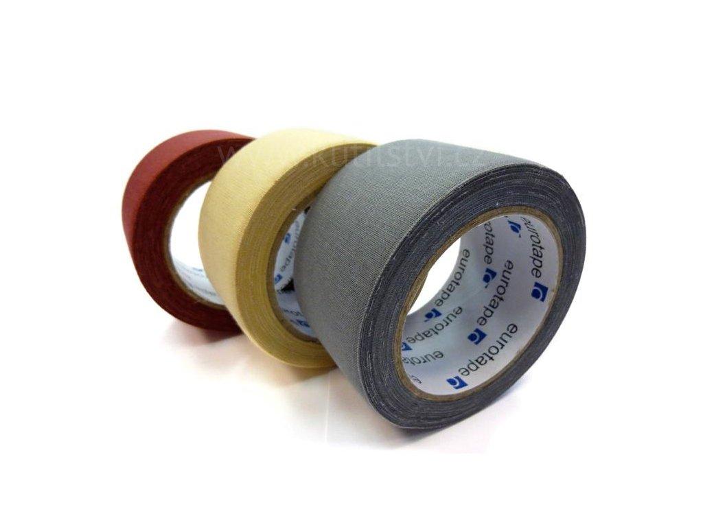 Kobercová lemovací textilní páska pro universální použití - kobercová lemovka, 5cm x 10m (Varianta béžová)