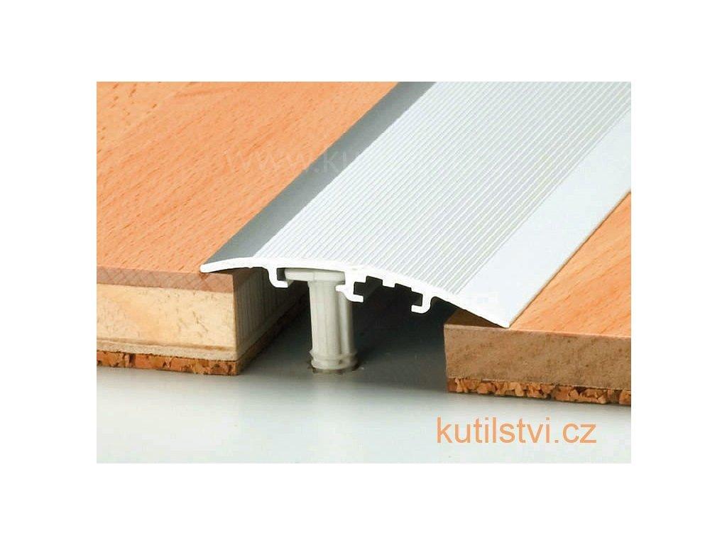Přechodový universální podlahový profil, šířka 47 mm, podlaha 4-17,5mm, vyrovná 0-17,5mm