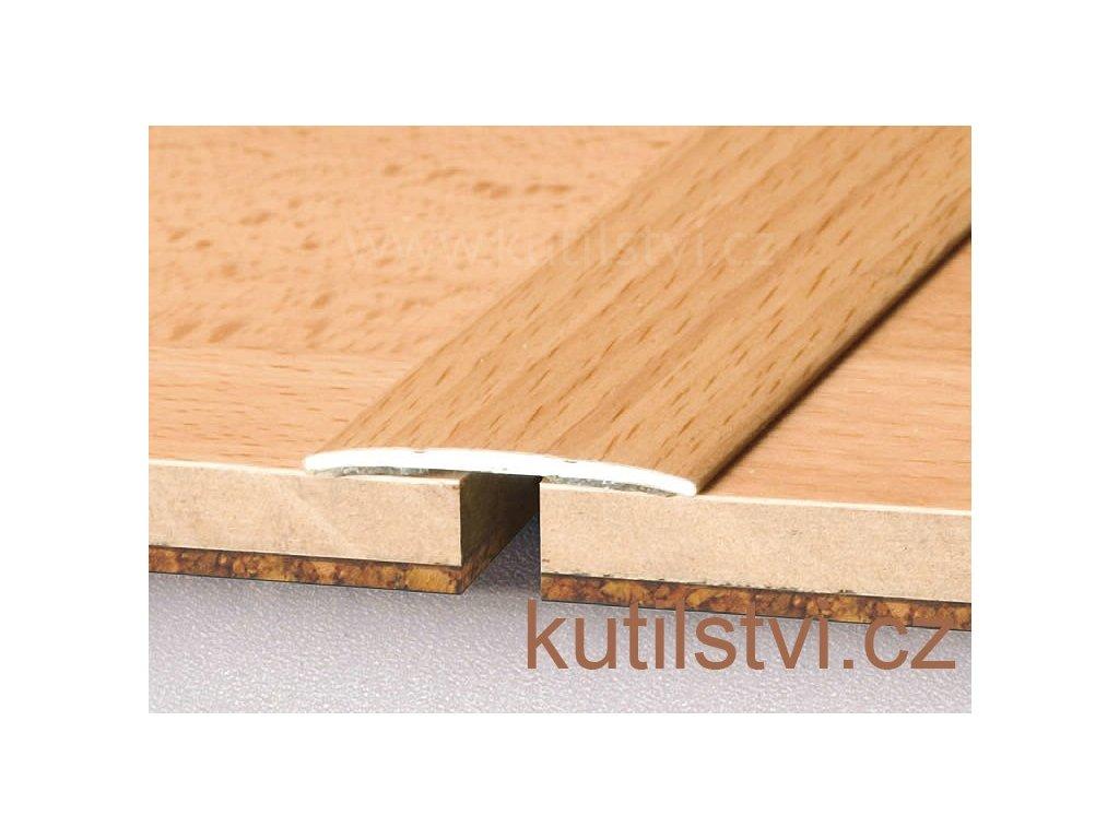 Samolepící podlahová  přechodová lišta, šířka lišty 38mm