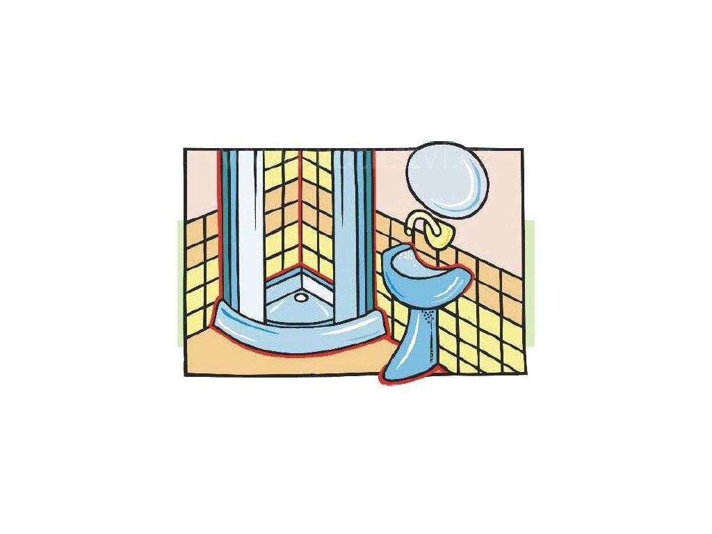 Silikon do koupelny Lukopren S SANITARY, 310 ml
