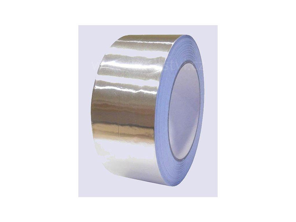 Hliníková samolepící páska, silná, tloušťka 0,06mm