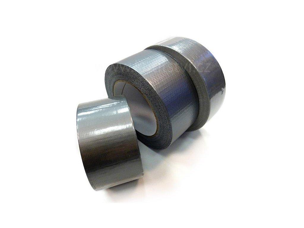 Textilní samolepící stříbrošedá páska 518 (Varianta Textilní páska 518, 38mm x 50metrů)