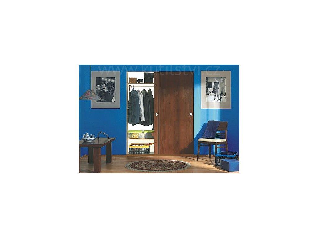Pojezd pro posuvné dveře FTR, volba pro 2.nebo 3. dveře o hmotnosti 15,30 a 50kg