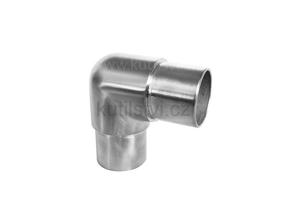 Koleno nerezové - malý oblouk - 42,4mm