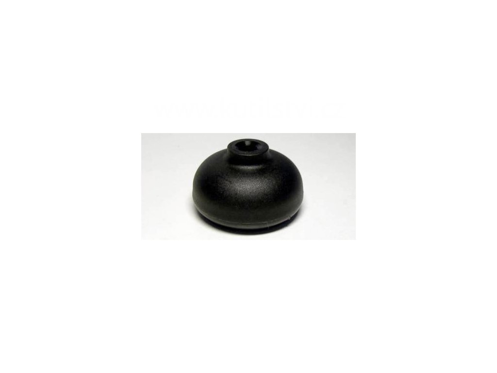 Nábytkový kluzák, čep typu KB, průměr 50 mm, černý