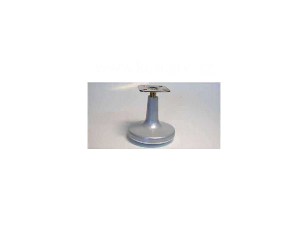 ONK kluzák + kovová destička, průměr 68 mm, patka - lakovaný nikl