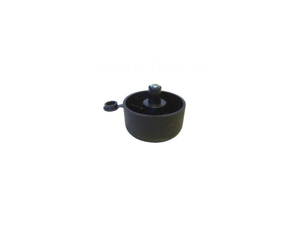 Stavitelný kluzák, průměr 50x27, černý