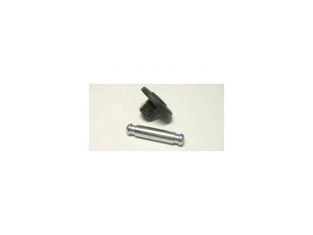 Ukončení, kolečka s čepem o průměru 12,3x14 mm, plast
