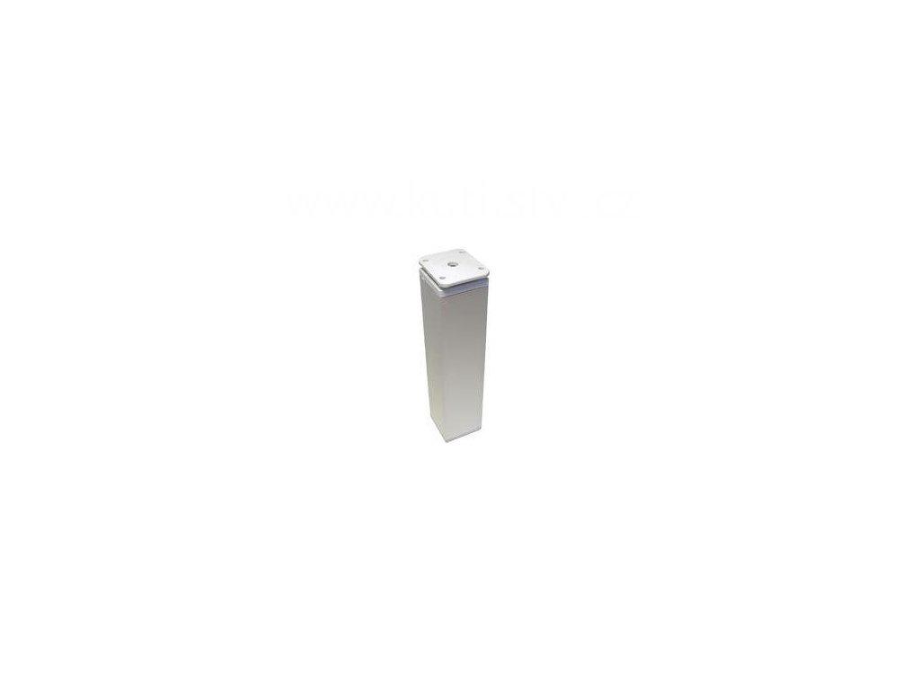 Hliníková nožka, výška 200 mm, hranatá