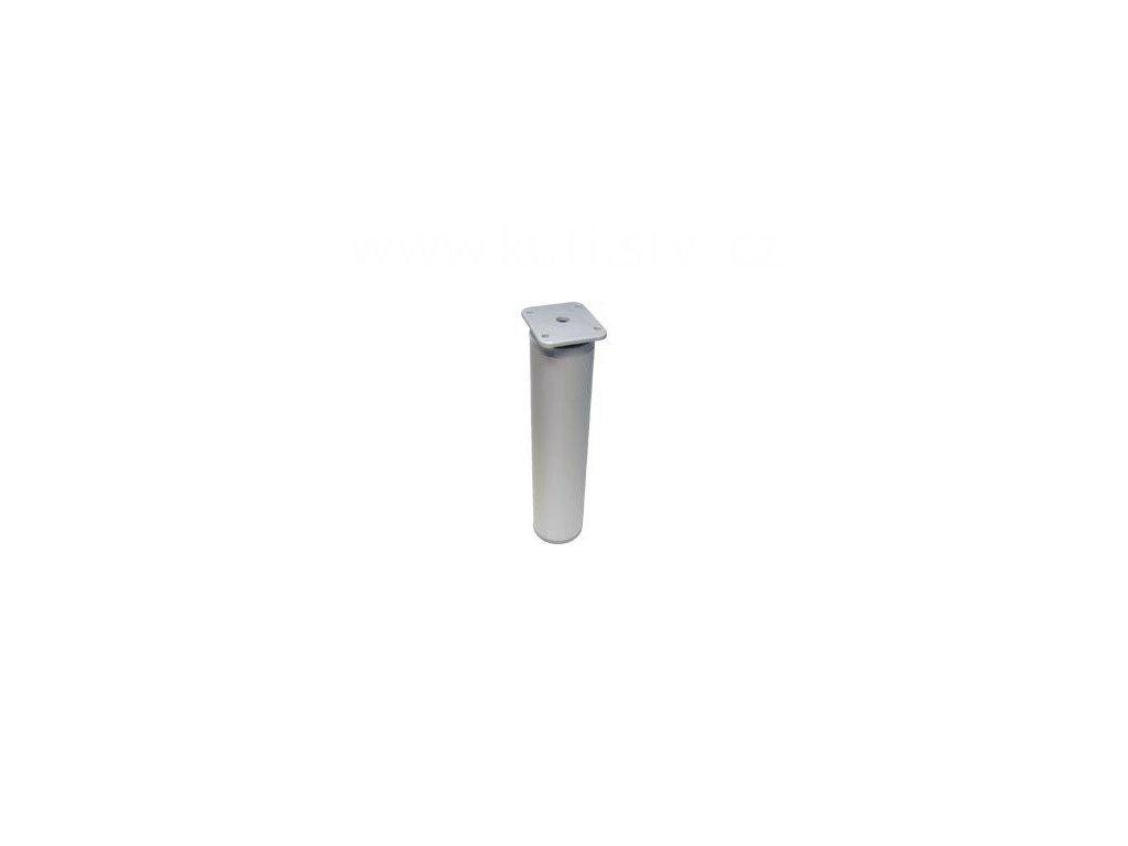 Hliníková nožka, výška 200 mm, kulatá