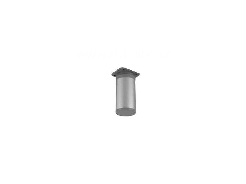 Hliníková nožka, výška 80 mm, kulatá