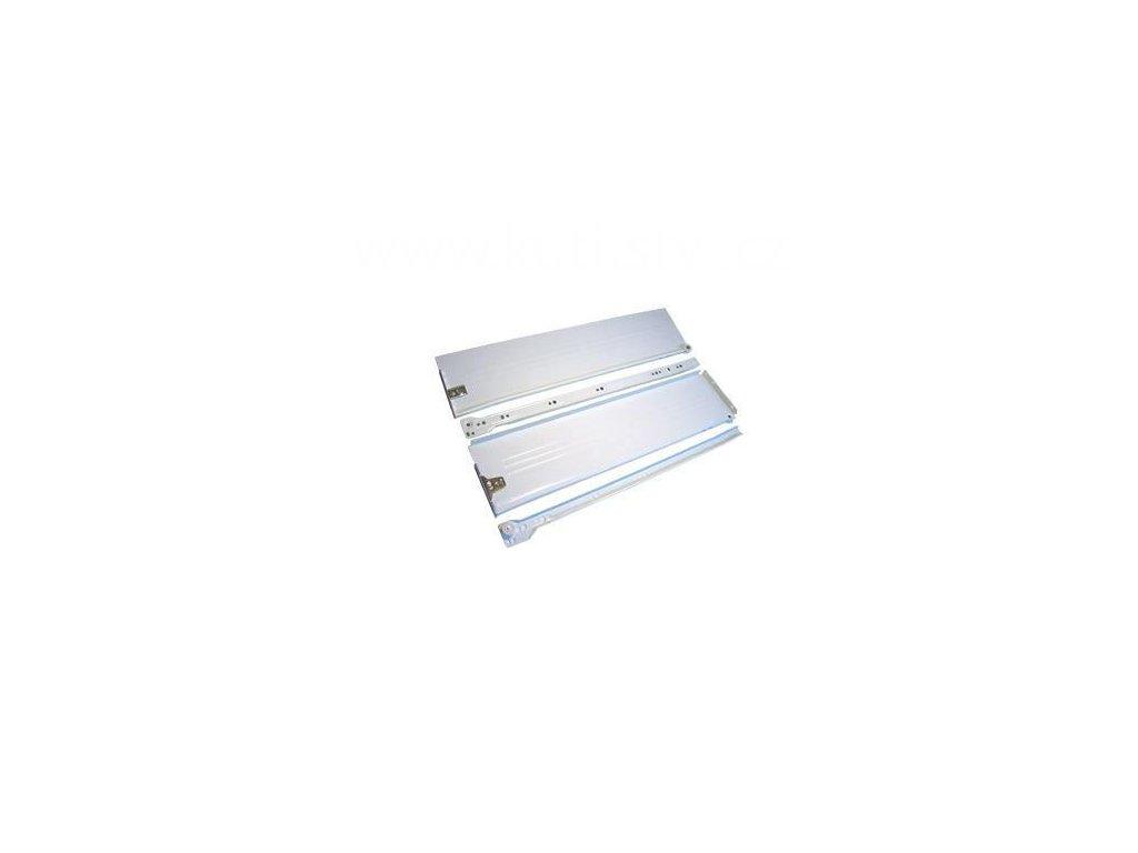 Částečný výsuv, 450/118, METAL BOX, bílý
