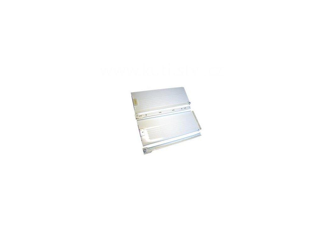 Částečný výsuv, 300/150, METAL BOX, bílý