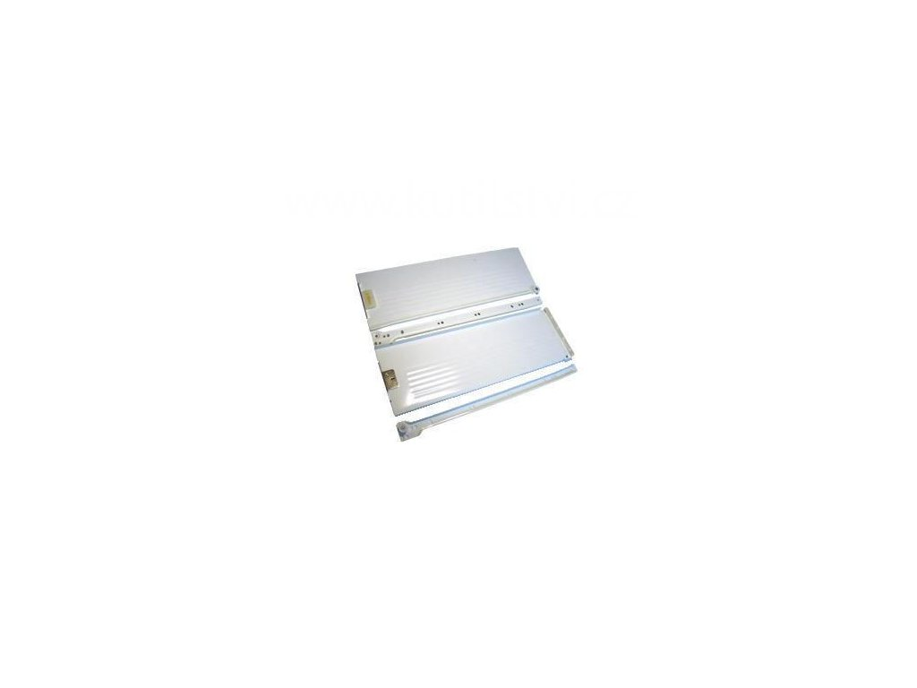 Částečný výsuv, 450/150, METAL BOX, bílý