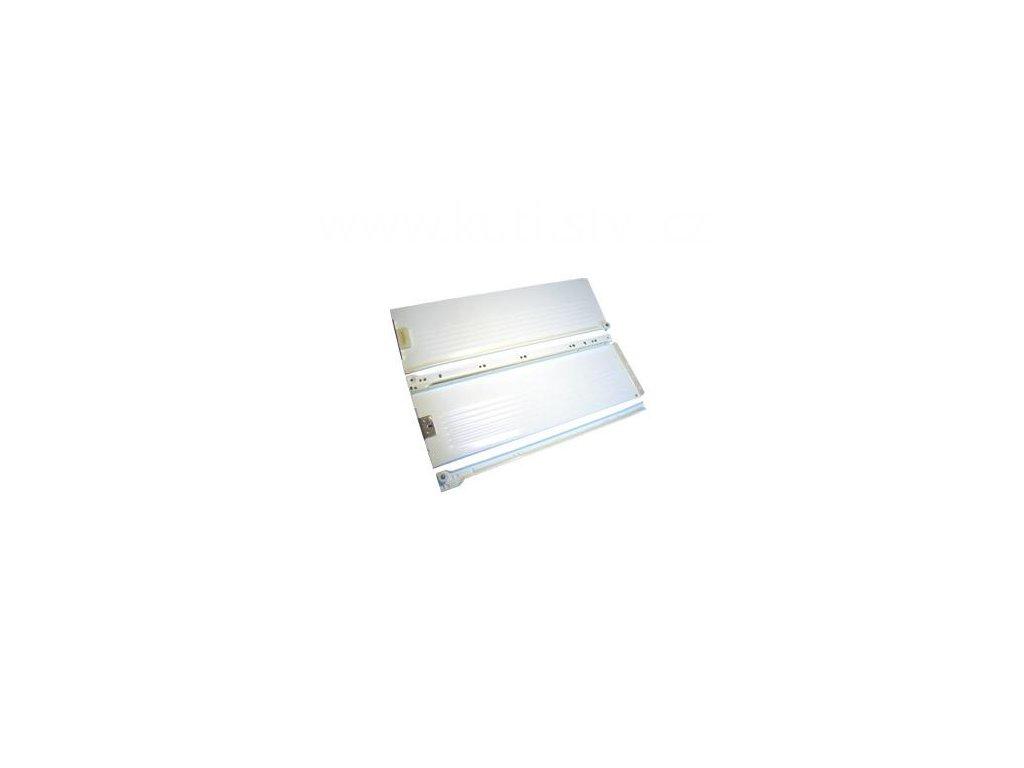 Částečný výsuv, 550/150, METAL BOX, bílý