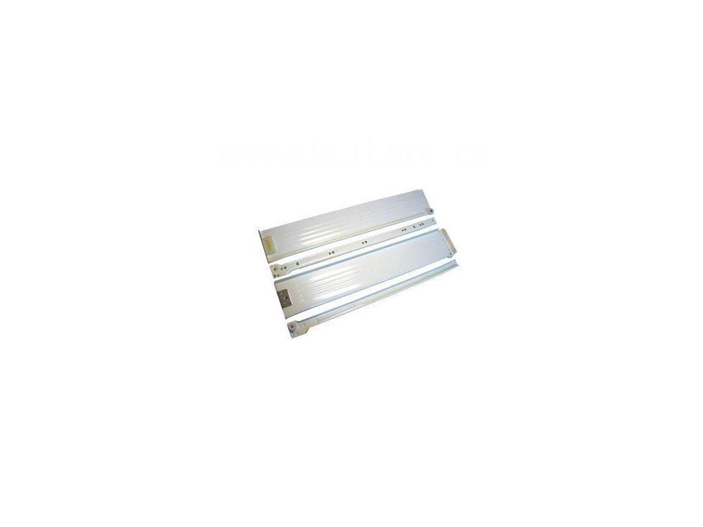 Částečný výsuv, 450/86, METAL BOX, bílý