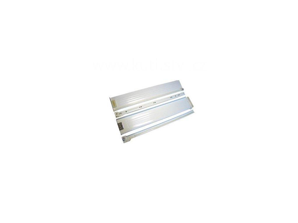 Částečný výsuv, 550/86, METAL BOX, bílý