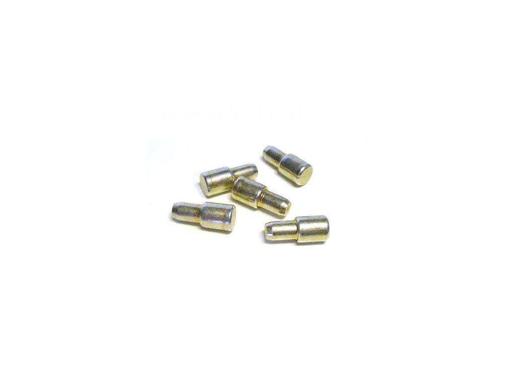 Podpěrka polic, průměr 7/5 mm