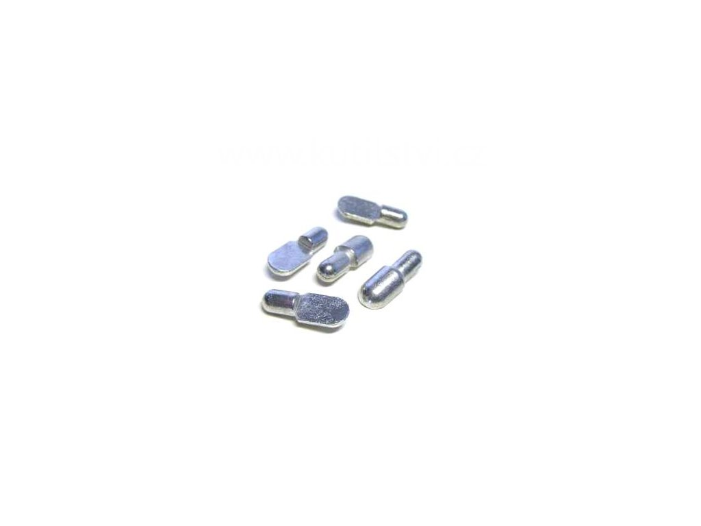 Podpěrka polic, průměr 7/10 mm, půlená