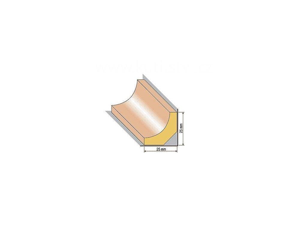 Dřevěná profilová lišta, 35