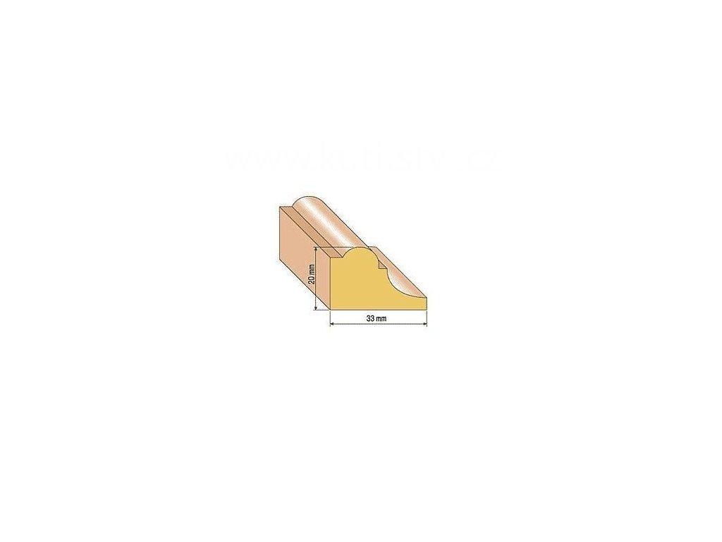 Dřevěná profilová lišta, 111