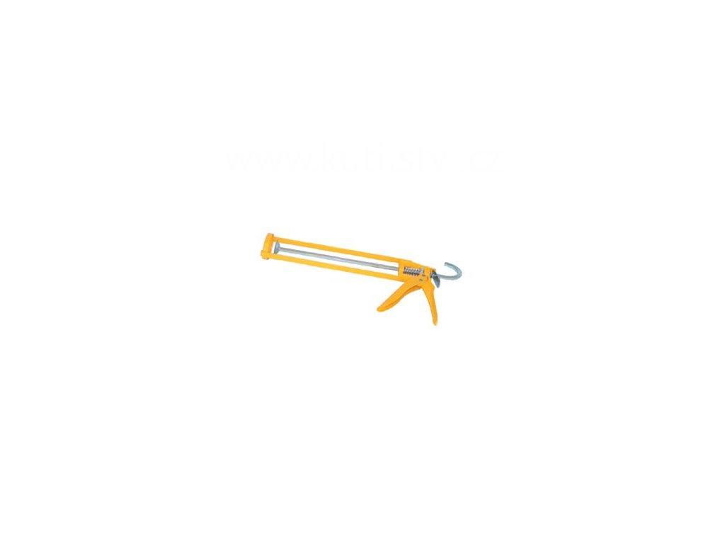 Výtlačná pistole skelet, FE, žlutá/ oranžová