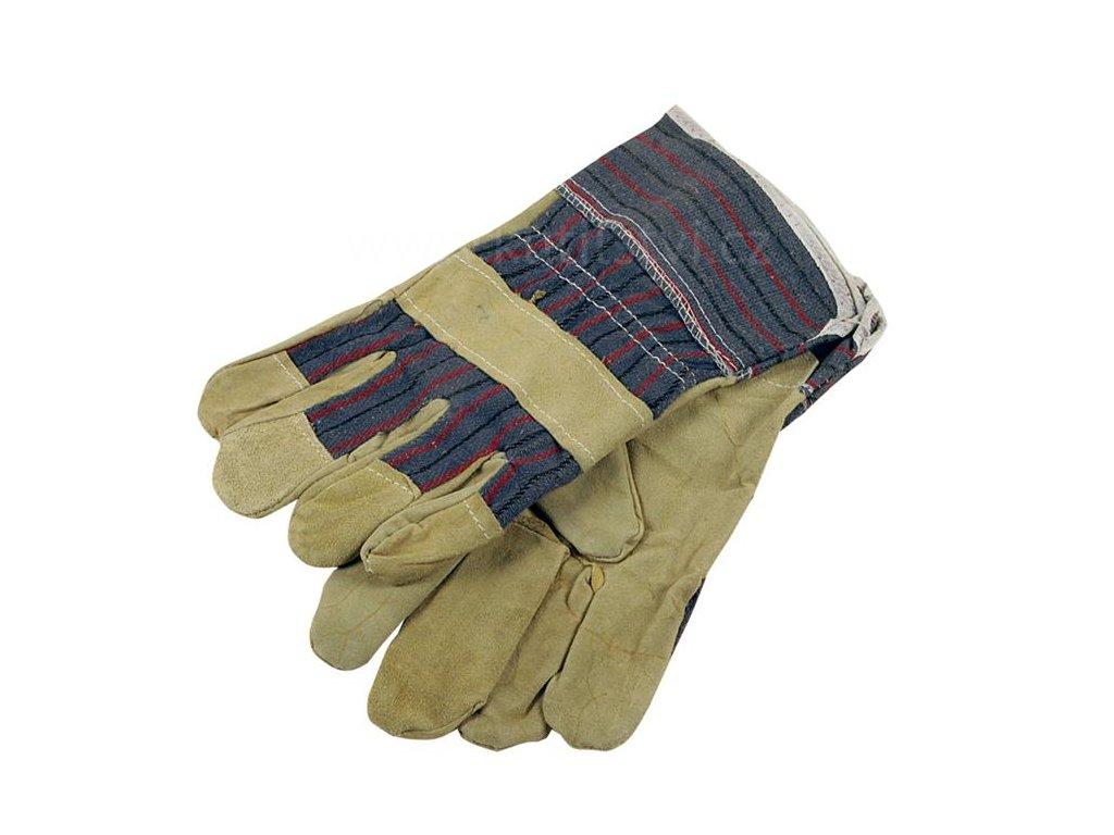 Pracovní rukavice 1019, žluté, pár,