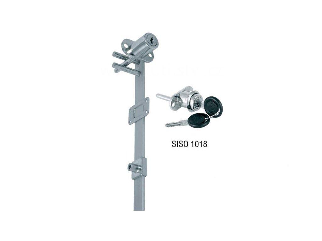 Centrální zámek SISO 1018 čelní, délka 500, 600, 800, 1300mm