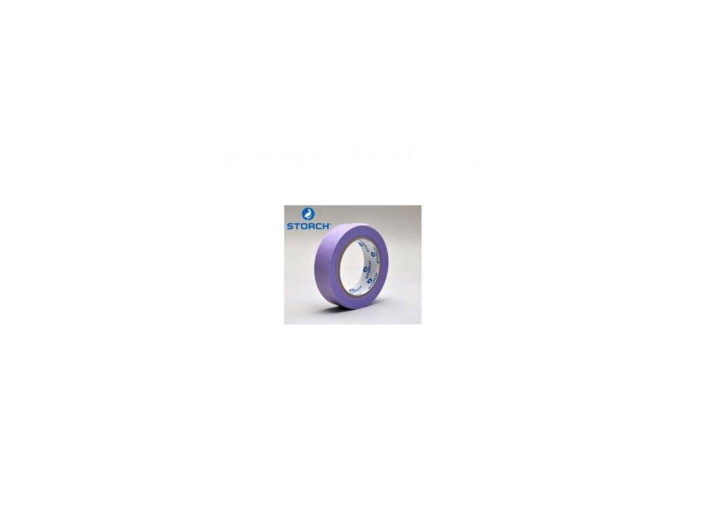 Maskovací páska pro choulostivé prostory, fialová, 30mm x 50m