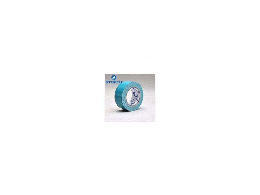 Maskovací páska na drsné a prašné povrchy, světle modrá, 50mm x 25m