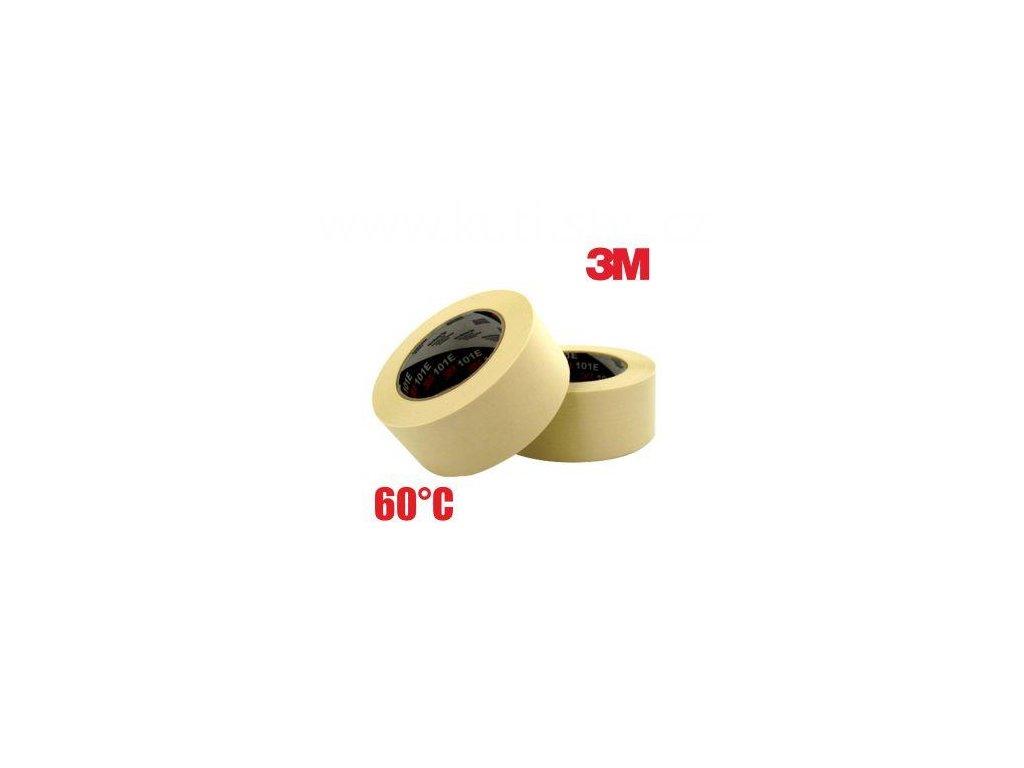 3M 101E standardní základní maskovací páska, 60°C, 36 a 48mm x 50m