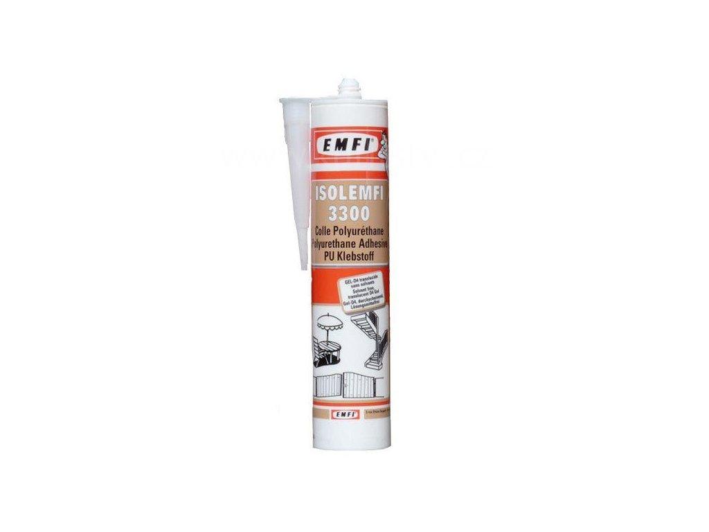 Polyuretanové lepidlo ISOLEMFI 3300 D4, kartuše 300 ml