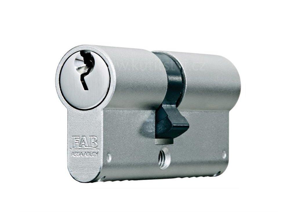 Oboustranná bezpečnostní cylindrická vložka FAB 1000U4BDNs