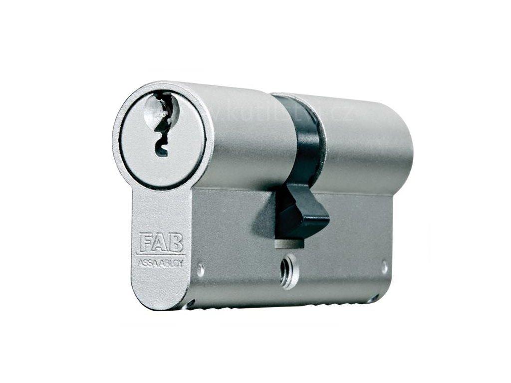 Oboustranná bezpečnostní cylindrická vložka FAB 2000 BDNs