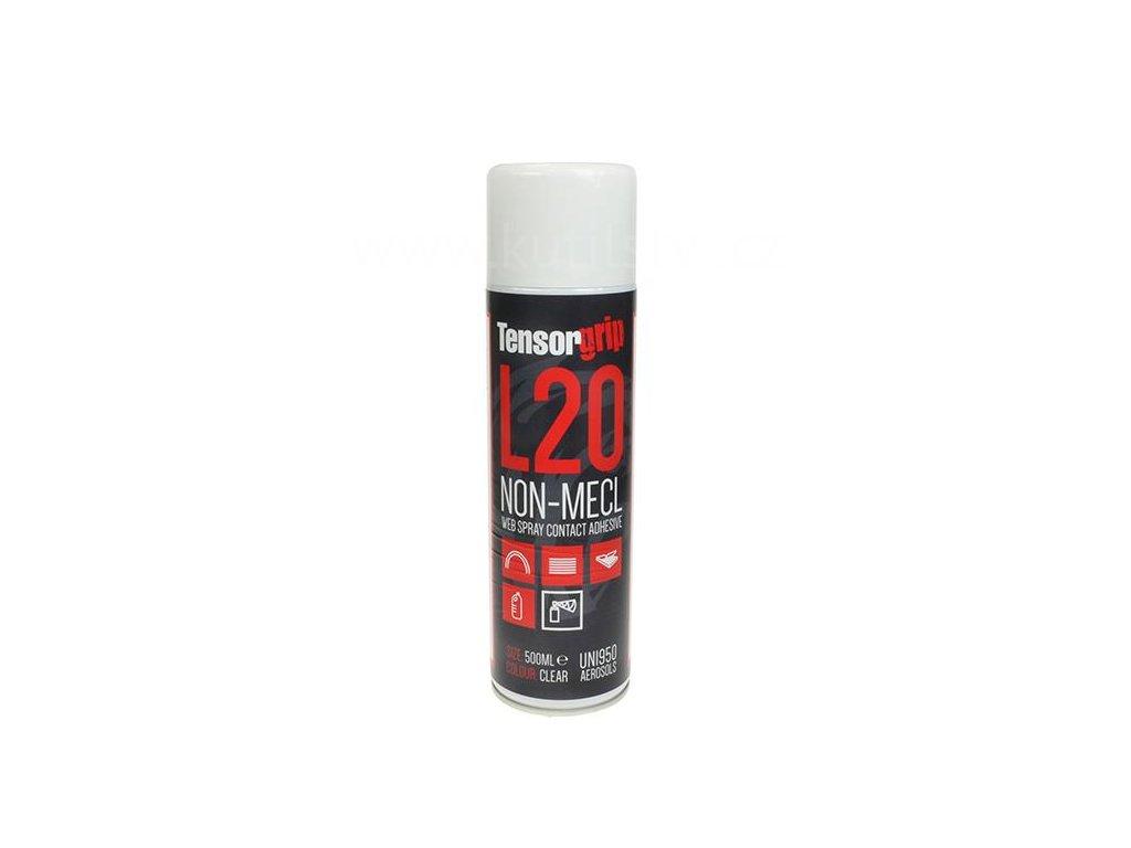 TensorGrip lepidlo L20 - Kontaktní lepidlo bez dichlórmetanu, 500ml, spray