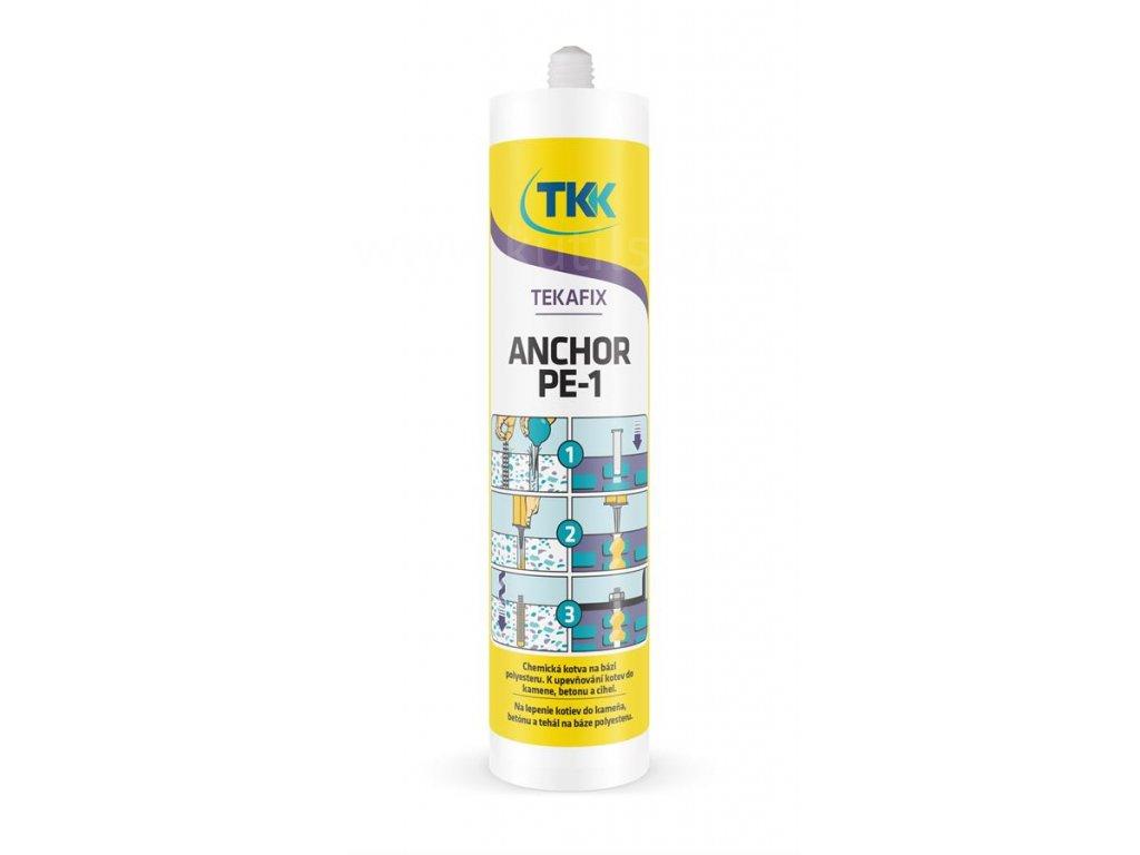 TEKAFIX PE 1 - chemická kotva polyester, 300ml