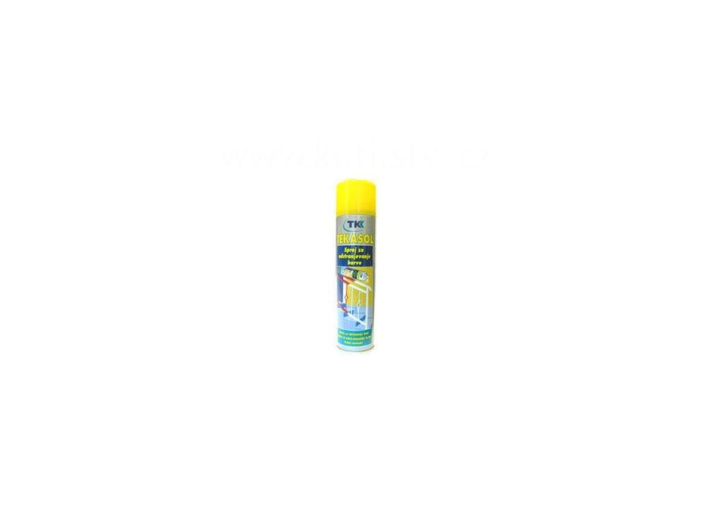 TEKASOL - spray na odstraňování barvy, 400ml