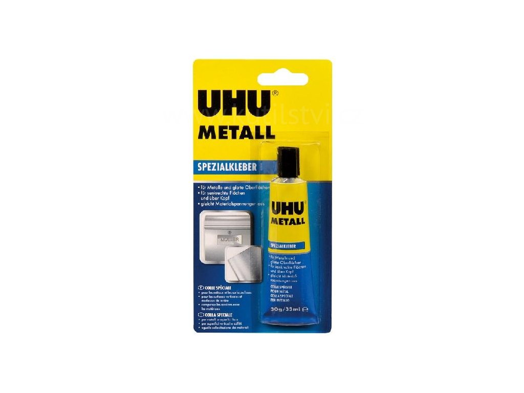 UHU Metall - pro lepení kovů, 30g