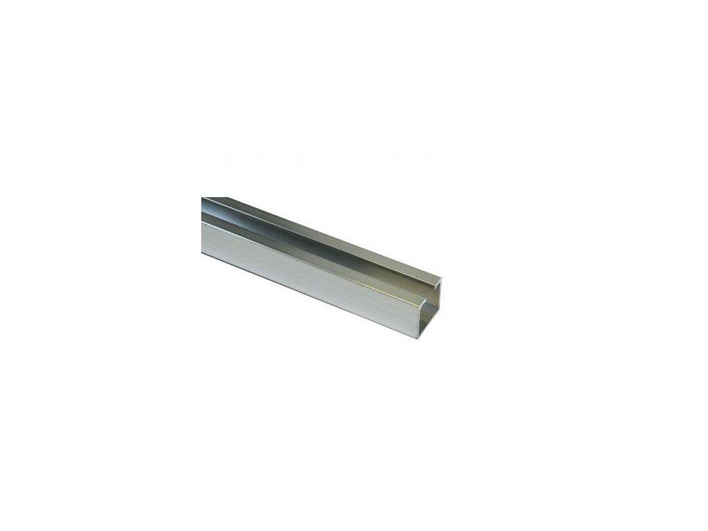Horní pojezdová lišta, profil 29 x 27mm, nosnost do 100kg