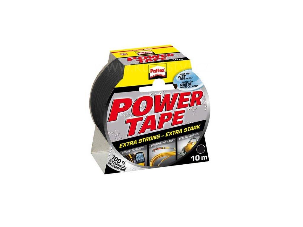 PATTEX Power Tape vodovzdorná páska pro univerzální použití i v exteriéru, 50mmx10m (Varianta šedá - 50mm x 10m)