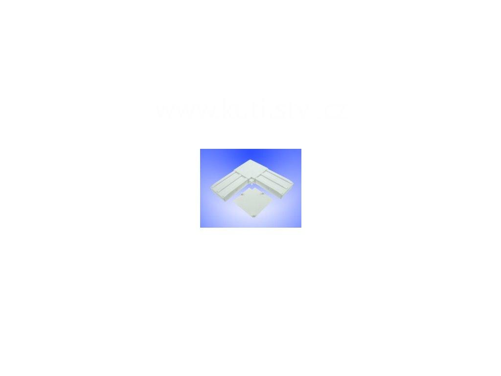 Rohová spojka dveřní vnější, profil 50x20
