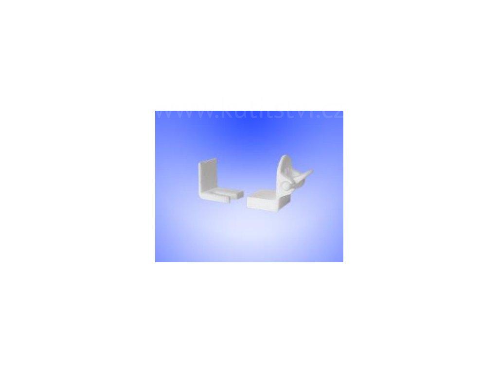 Držák fixace rolety, nastavitelný, plast