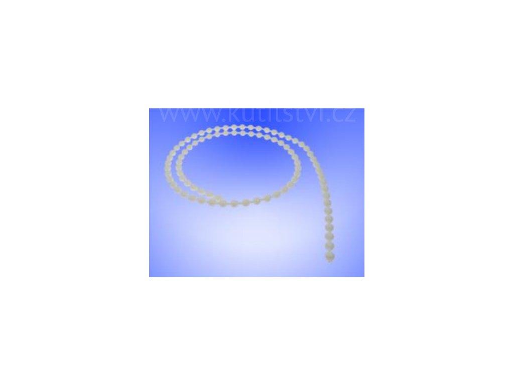 Ovládácí řetízek pro vertikální žaluzie LUX a rolety, průměr kuliček 4,5mm