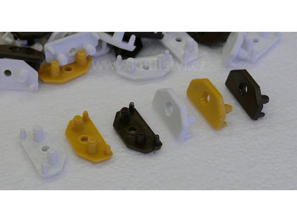 spojovací žabka plastových