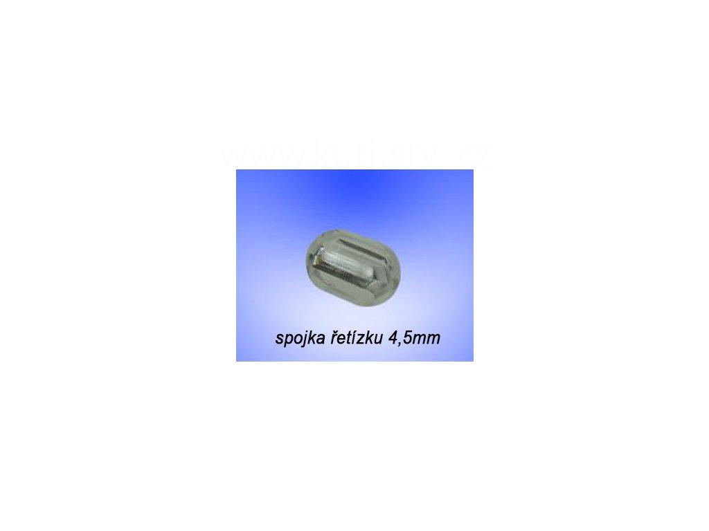 spojka řetízku 4,5mm