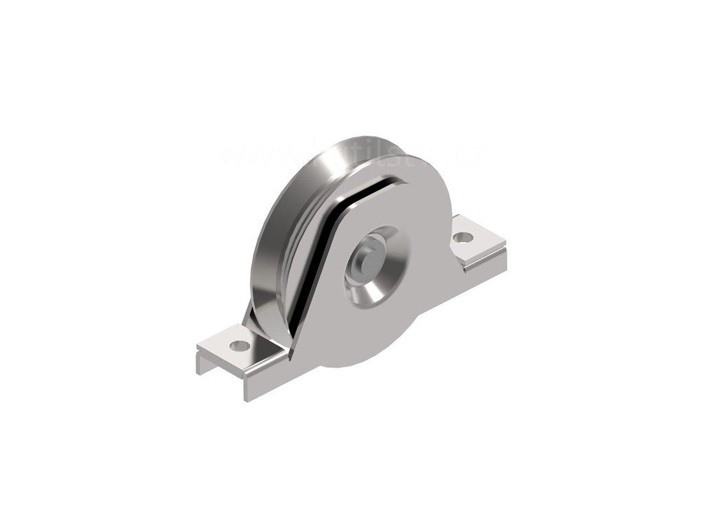 Pojezdová kladka kolečkové brány, typ V, kolečko průměr 100mm