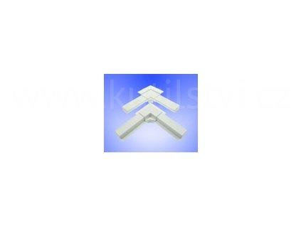 Roh vnější pro profil rámu sítě ISSO OV 25x10
