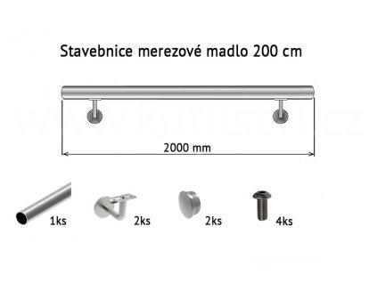 nerz madlo 200 cm stavebnice
