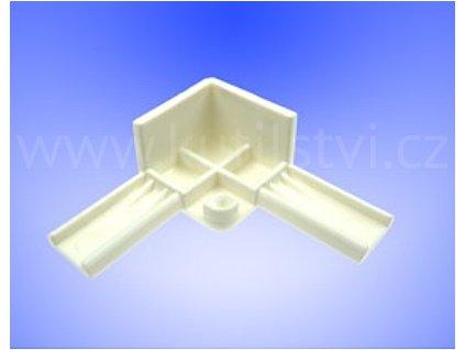 Vnější plastový roh pro profil OE 24x24 mm